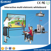 Hot sale Interactive multi whiteboard eletronic whiteboard smart board with projector for education