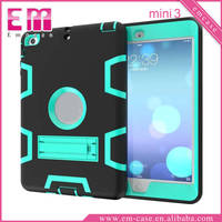 For iPad Mini Armor PC Case Full Body Protective PC Case For iPad Mini