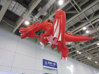 exhibition decoration fly dragon inflation animal