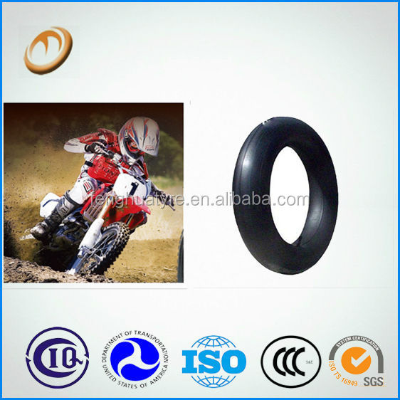wholesale motorbike spare part manufacture butyl rubber tyre tube 300/350-4 motorcycle inner tube 4