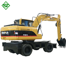 factory price 15t new wheel mulcher excavator in india dubai sale