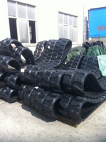 "16"" RUBBER TRACK FOR B50-2B VIO40 VIO45 VIO55 VIO50 PC40FR PC40 RUBBER TRACKS,400X72.5,450X83.5X74"