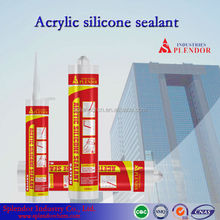 Acetic silicone sealant water proof/high density silicone sealant supplier