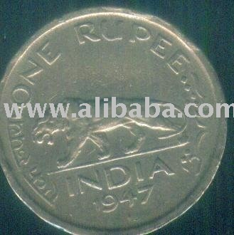 George Vi King Emperor One Rupee Coin 1947 for Sale