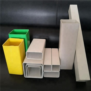 High quality UV protection large sizes pvc plastic square pipe price