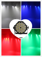 54*3W RGBW led party stage lighting stage par lighting guangzhou packing