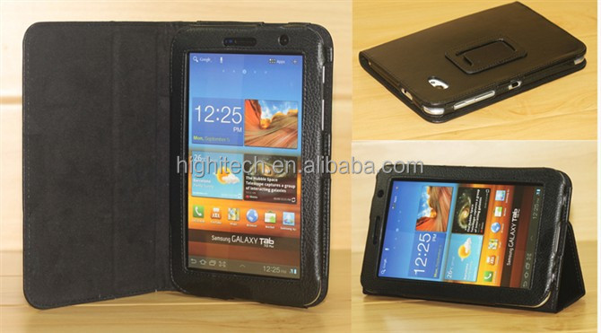 Tablet PC Leather Case Protective for Samsung Galaxy Tab P6200/P3100/P3110