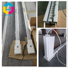 motorized electric stage curtain track system heavy strong dedicated stage auto rail