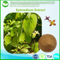 100% quality guarantee icariin 50% 60% 80% 98% epimedium extract