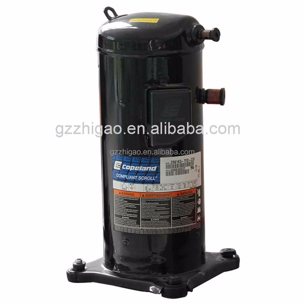 10HP Copeland Scroll Refrigeration compressor ZR125KC for air conditioner