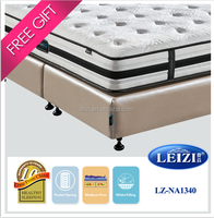 5-zone pocket spring compressed cheap bed sponge mattress