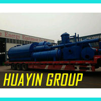New design tyre scrap waste tyres pyrolysis equipment with 9 patents