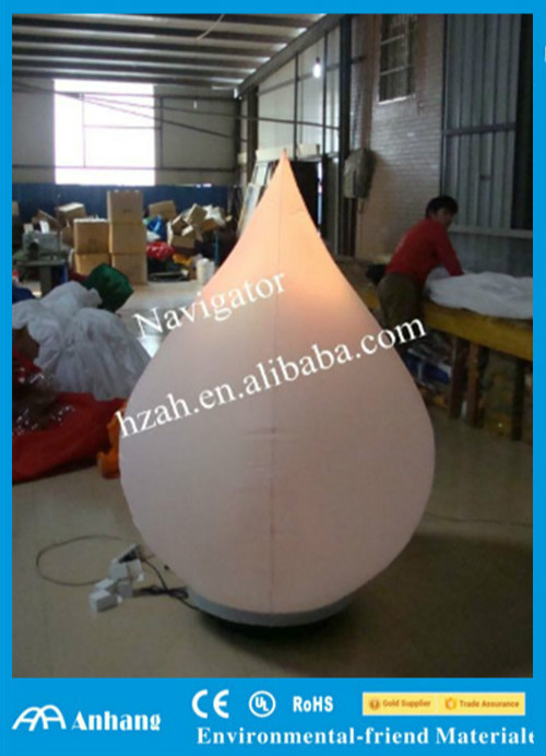 Big Inflatable Onion Shape for Halloween Decor