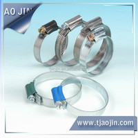 British type of stainless hose clamp