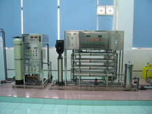 Industrial use DI water treatment system