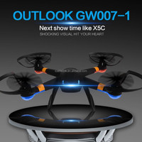 2015 NEW design products vs syma x5c rc quadcopter professional drone dron with HD camera flying toy GW007-1