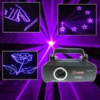 200MW violet animation laser chrismas lighting