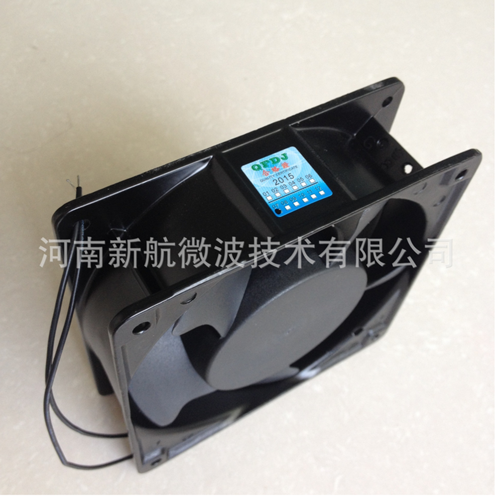 120mm*120mm*38mm Ac 220volt Air cooling fan for microwave