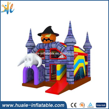 Huale Halloween Inflatable Bouncer/ Kids Inflatable Trampoline House for sale