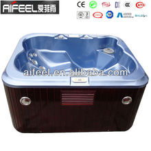acrylic water and air jets spa sex massage tub with tv