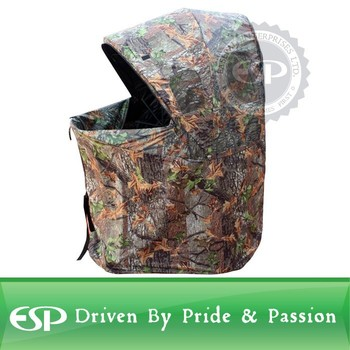 Camouflage One Man Hunting Game Chair Blind