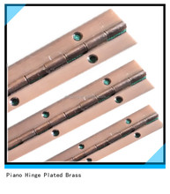 915mm length red copper piano hinge