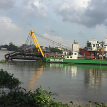 24 inch cutter suction mud dredger for sale in Bangladesh