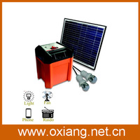 10W solar generator for home use at low price with high quality