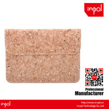 for men hand made stylish envelope real cork leather sleeve for ipad mini