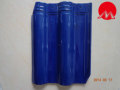 Cobalt blue Color Kerala Ceramic Roof Tile