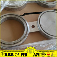 "2"" RF 600# A105 ANSI B16.48 Spectacle Blind Flange"