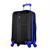 Black And Blue ABS Travel Bags