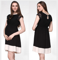 VVM05 korean style maternity dress maternity clothes pregnant women wear