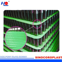 Plastic Corrugated Bottle Holder