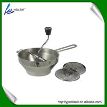 Stainless Steel Vegetable Mill Baby Food Mill With 3 Discs