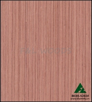 BOH-S202#, engineered Red sandalwood veneer for furniture