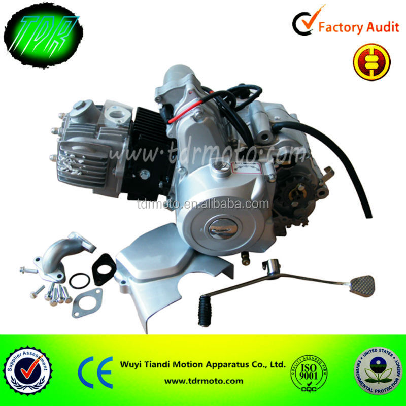 Baitai 110cc electric start engine with reverse/ engine for mini ATV