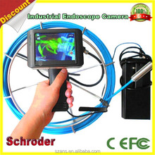 Electronic Tube pan / tilt drain Pipe inspection Camera Advanced Video Endoscope