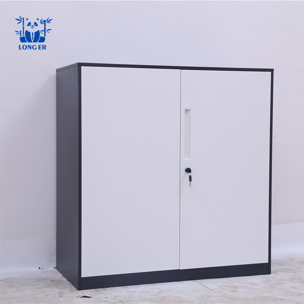 low height steel file cabinet, good quality metal storage cabinet for office, thin edge file cabinet