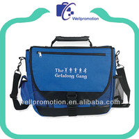 Wellpromotion messenger bags with laptop compartment