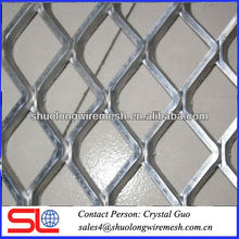 Durable galvanized hexagonal pattern expanded metal mesh