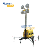 9M Manual High Mast Mobile Light Tower RPLT6000