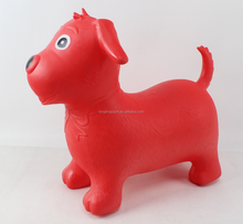 PVC Inflatable jumping animal/pony horse