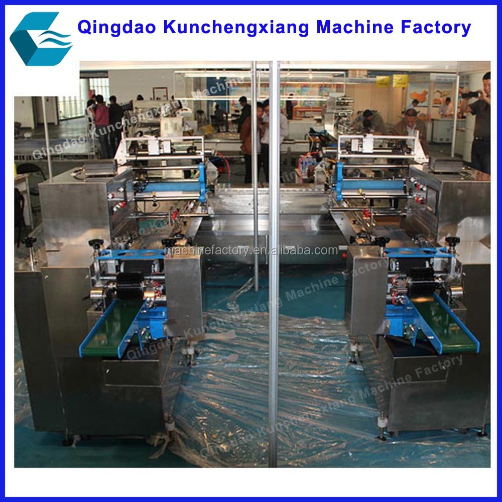 Automatic ice sucker packing machine