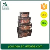 Small Order Accept Clearance Goods Vintage Storage Trunks