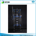 Laboratory 100l Double Glass Reactor From China