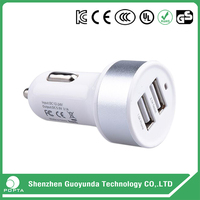 New Style High Performance Promotional customized mini Universal USB Car Charger