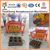 Small and cheap manual hollow block machine QCM4-30 Moving hollow brick machine price