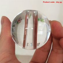 HOT SALE simple design blank crystal balls with hole