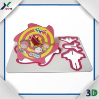 Snack food promotion cards, 3d puzzle diy toy, spinning top card